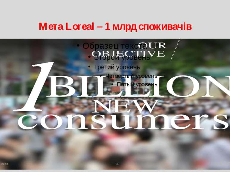 Мета Loreal – 1 млрд споживачів