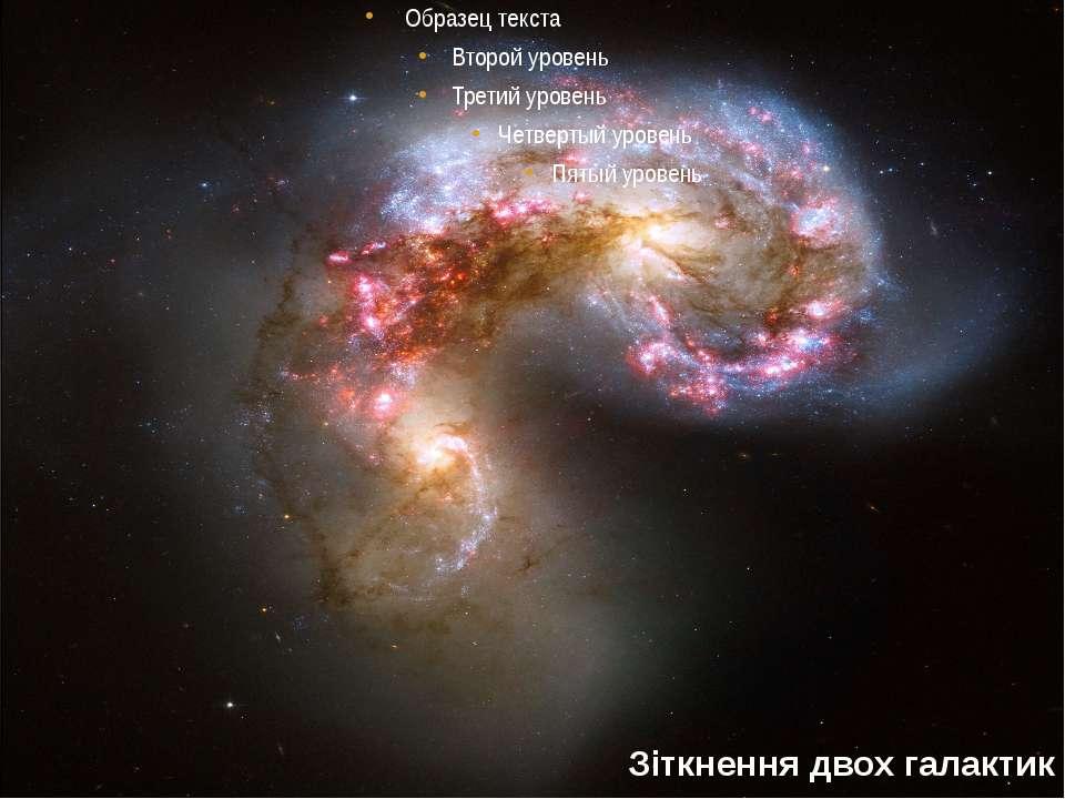 Зіткнення двох галактик