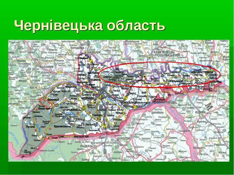 Чернівецька область