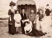 Відпочинок біля моря. 1910 р.