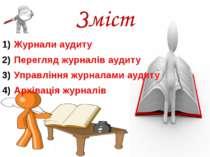 Зміст Журнали аудиту Перегляд журналів аудиту Управління журналами аудиту Арх...