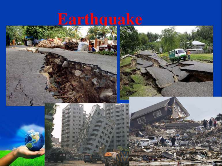 Earthquake Page