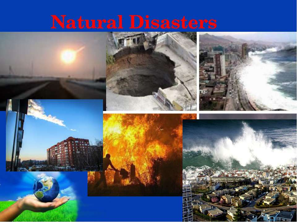 Natural Disasters Page