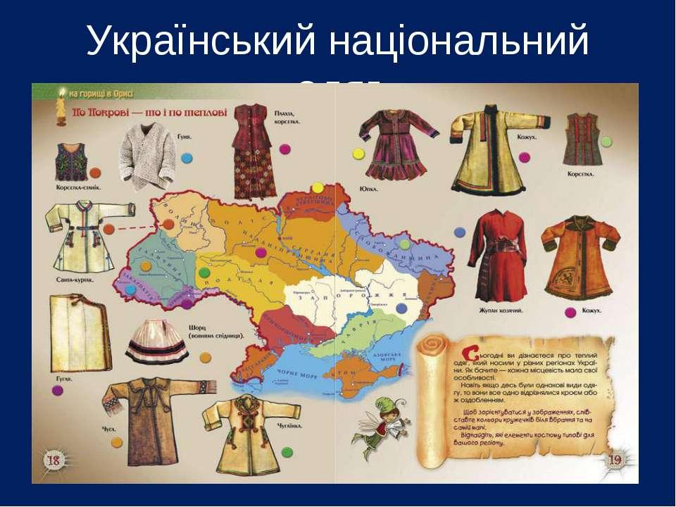 Український національний одяг