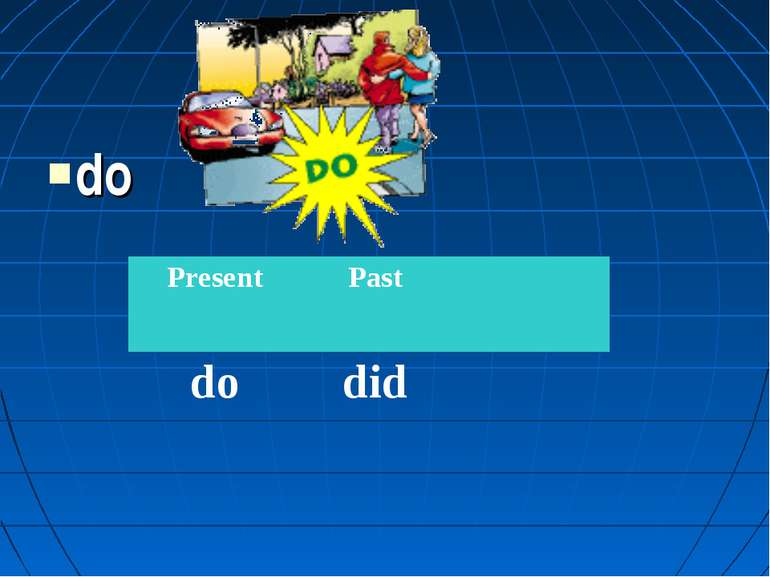 do Present Past do did