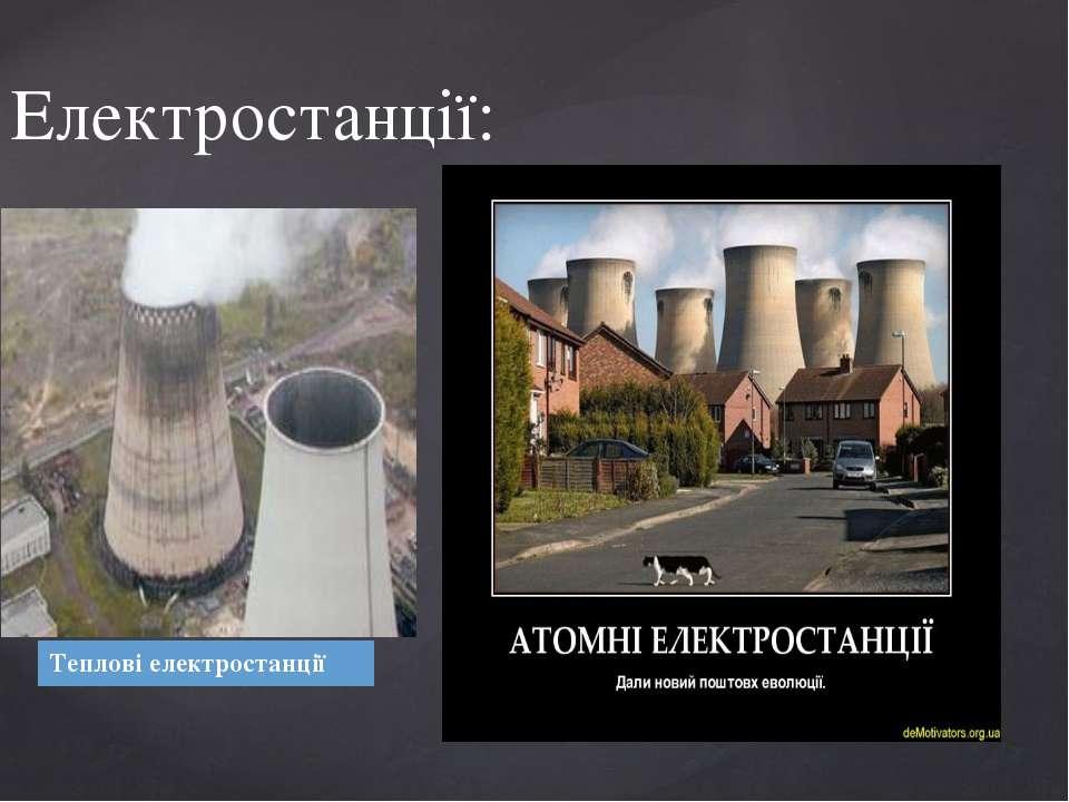 Електростанції: Тепловіелектростанції