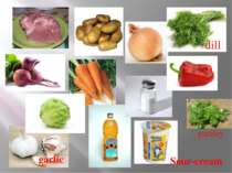 dill parsley garlic Sour-cream
