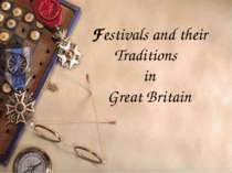 Festivals and their Traditions in Great Britain