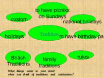 Tradition holidays to have picniks on Sundays national holidays to have birth...