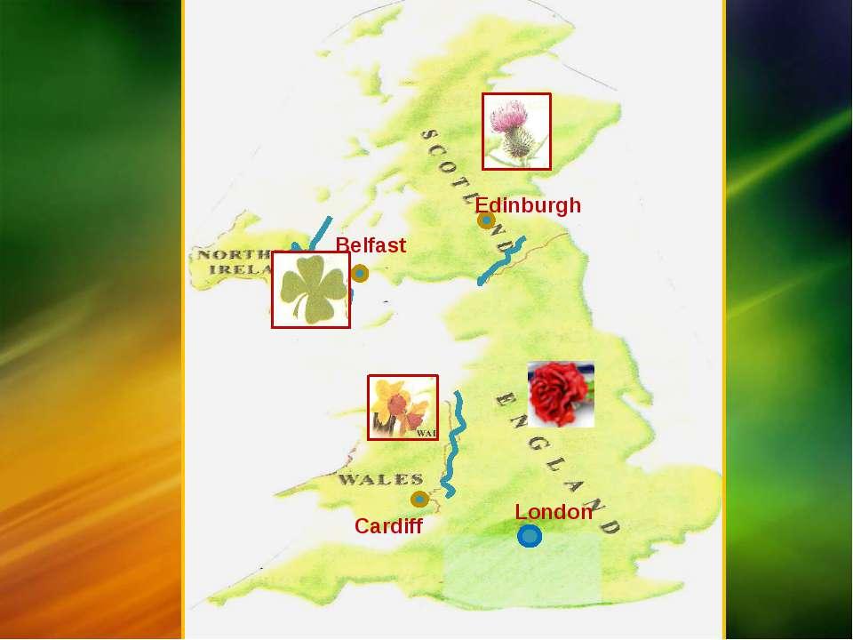 London Edinburgh Belfast Cardiff