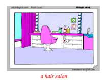 a hair salon