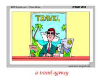 a travel agency