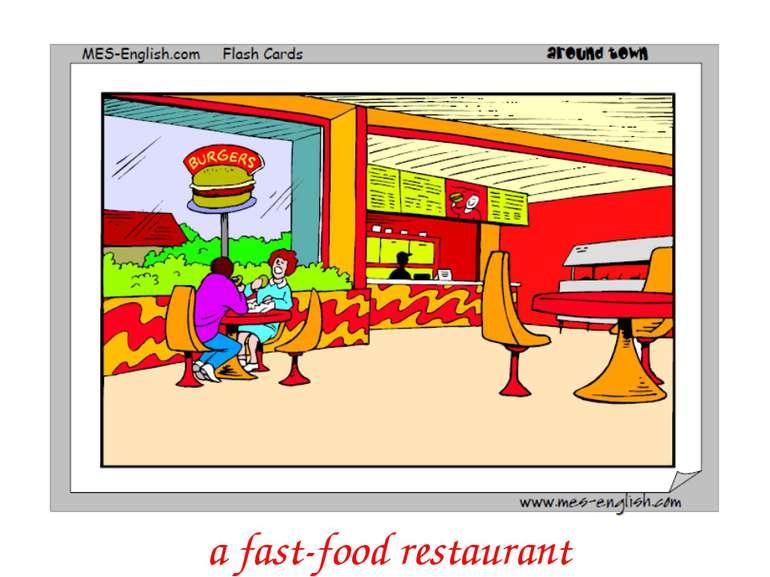 a fast-food restaurant