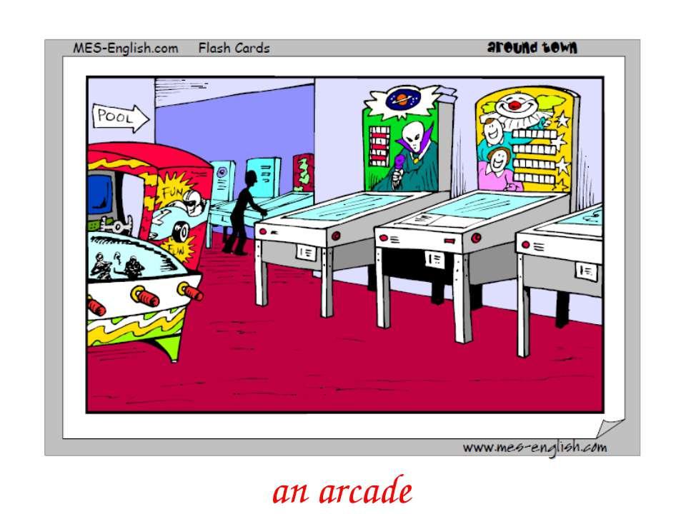 an arcade