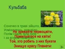 Тюльпан Я гордо голову тримаю І перед вітром не схиляю. Я жовтий, білий, по...