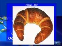 Товар - 600 Яку назву одержав кулінарний виріб незвичайної форми, спечений од...