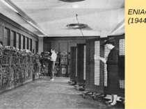 ENIAC (1944)