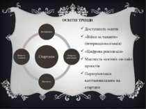 ОСВІТНІ ТРЕНДИ Доступність освіти «Війна за таланти» (інтернаціоналізація) «Ц...