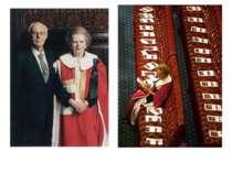 1995:разом з чоловіком Тетчер перед виступом королеви Єлизавети, листопад 200...