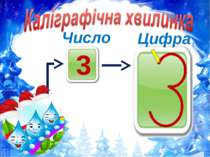 3 Число Цифра