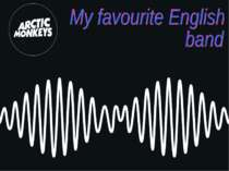 """My favourite English band"""