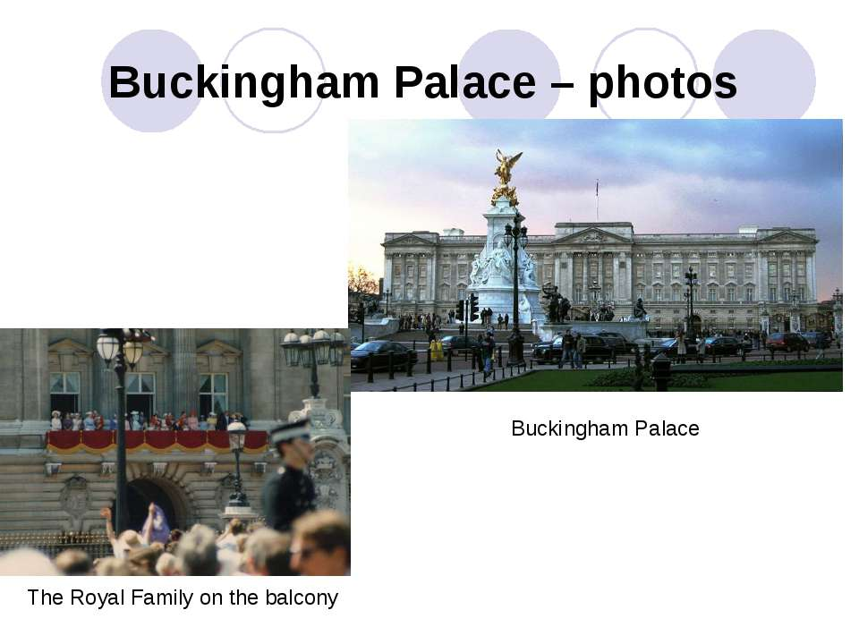 Buckingham Palace – photos Buckingham Palace The Royal Family on the balcony