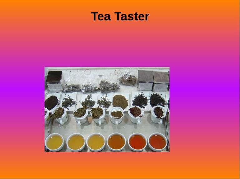 Tea Taster