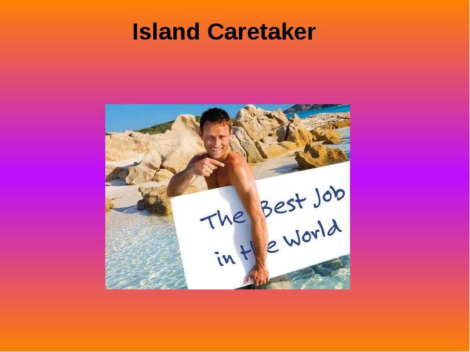 Island Caretaker