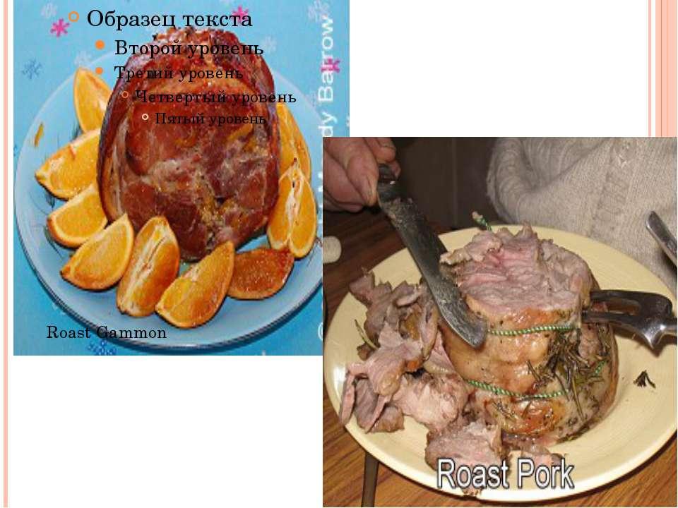 Roast Gammon