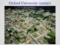 Oxford University (center)