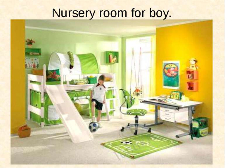 Nursery room for boy.