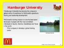 O'Malley, Ouellette, Plourde, & Roy 2009 * Hamburger University Hamburger Uni...