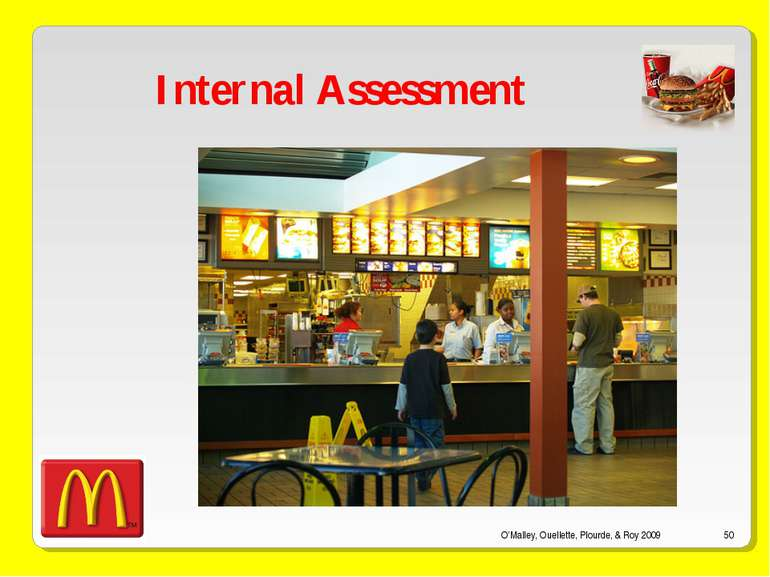 O'Malley, Ouellette, Plourde, & Roy 2009 * Internal Assessment O'Malley, Ouel...