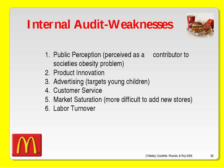 O'Malley, Ouellette, Plourde, & Roy 2009 * Internal Audit-Weaknesses Public P...