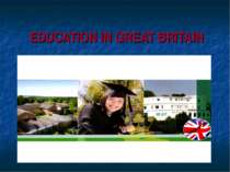"""Education in Great Britain"""