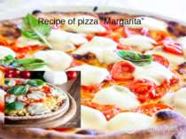 "Recipe of pizza ""Margarita"""