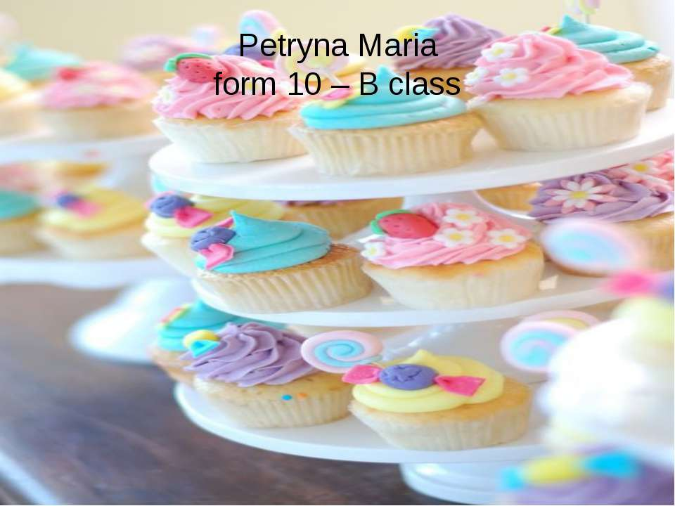 Petryna Maria form 10 – B class