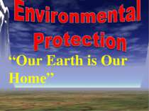 """Environmental Protection"""