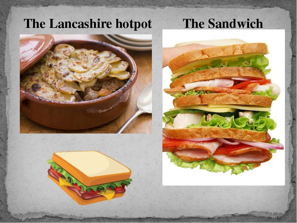 The Lancashire hotpot The Sandwich