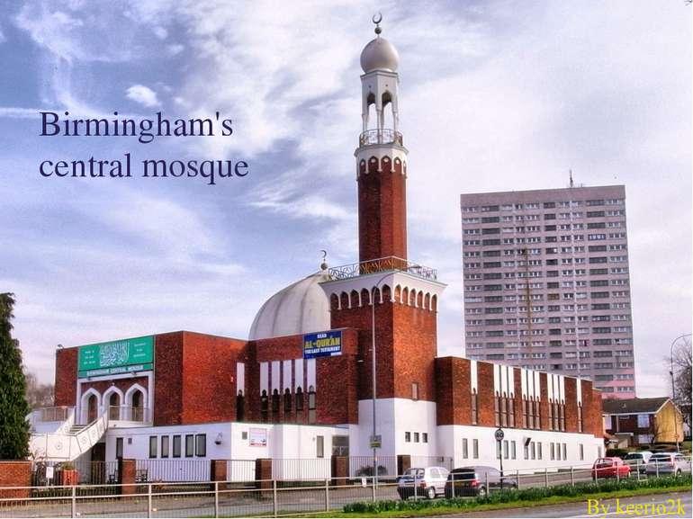 Birmingham's central mosque