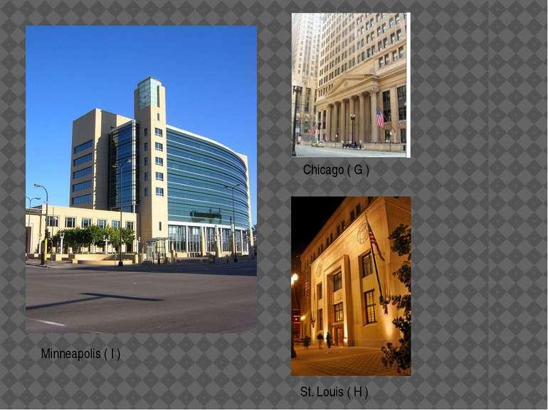 St. Louis ( H ) Chicago ( G ) Minneapolis ( I )