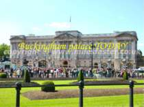 Buckingham palace TODAY