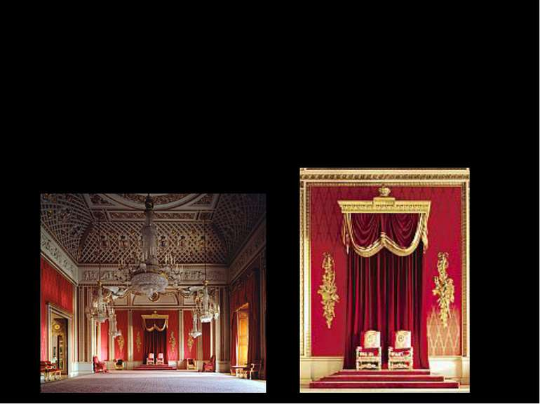 The Throne room- was used by Elizabeth II., Duke of Edinburg at the Queen´s c...