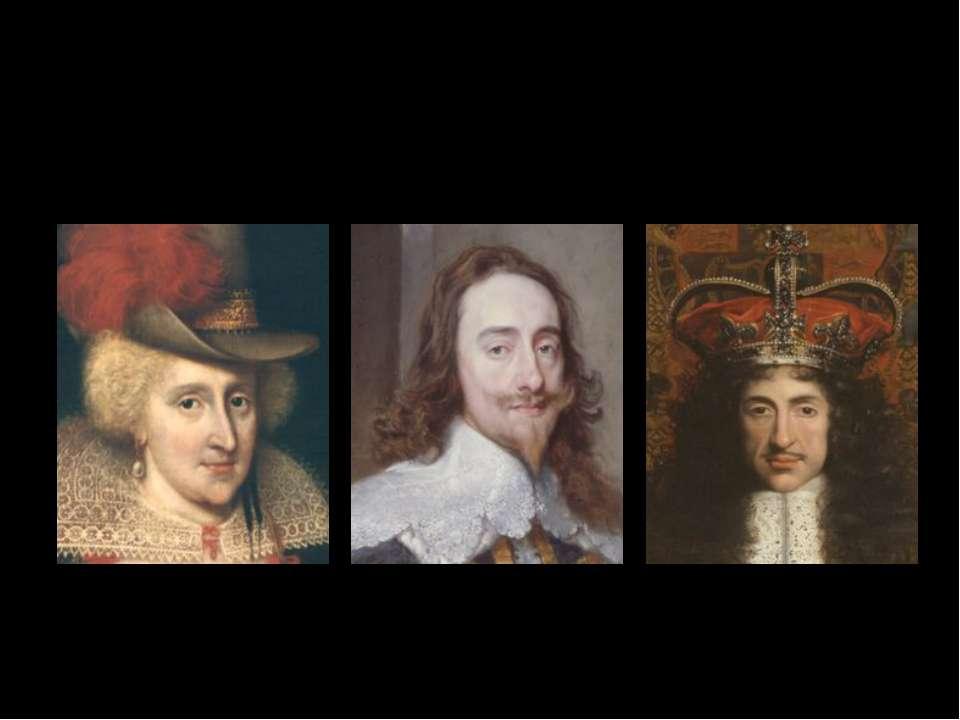 Anne of Denmark Charles I. CharlesII.