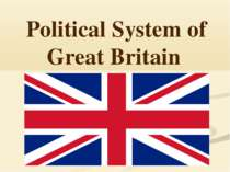 """Political System of Great Britain"""