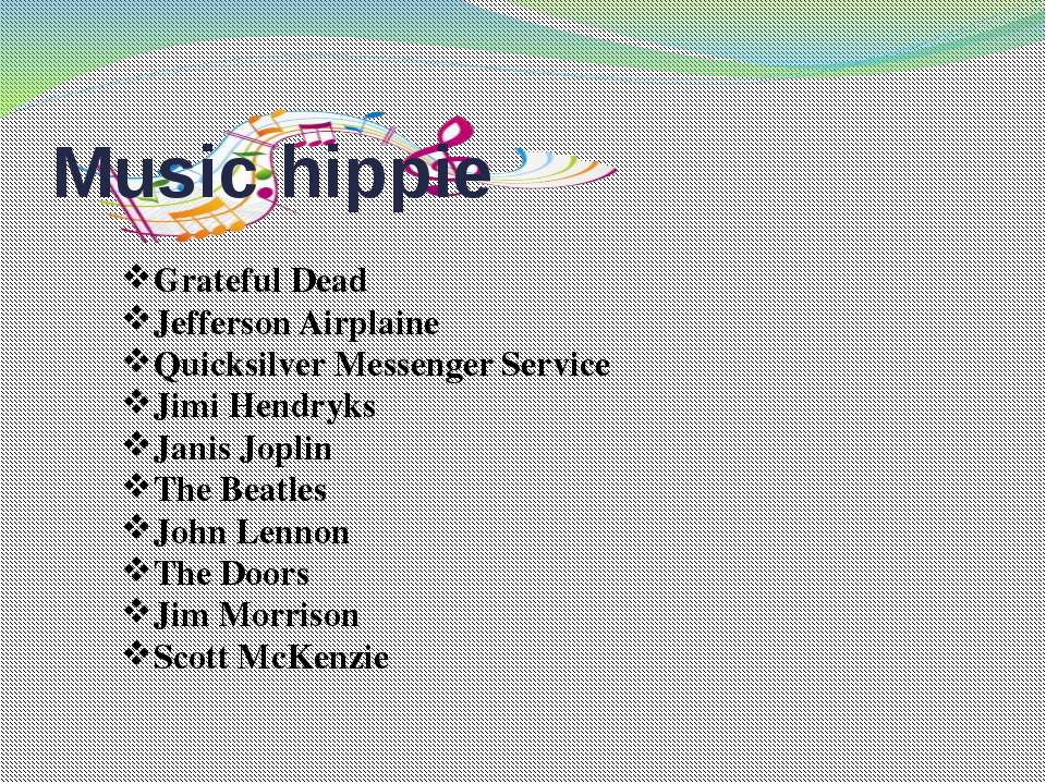 Music hippie Grateful Dead Jefferson Airplaine Quicksilver Messenger Service ...