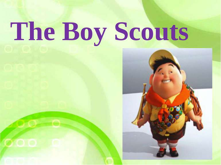 The Boy Scouts