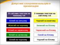 Найбільш популярні недоречності: Презентація – дублювання підручника. Презент...