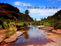 """Education in Australia"""