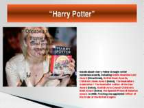Novels about Harry Potter brought writer numerous awards, including Nestle Sm...
